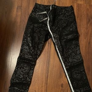 Seven 7 Jeans with Floral Print Sz 10